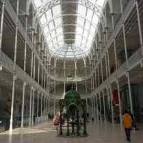 La grande galerie du National Museum of Scotland