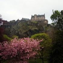 Le Château, vu depuis Princes Street